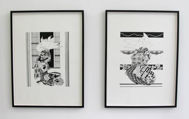 Chourouk Hriech, exposition personnelle « …et des échelles pour les oiseaux », du 16 mai au 18 juillet 2020. © Chourouk Hreich, Courtesy galerie Anne-Sarah Bénichou