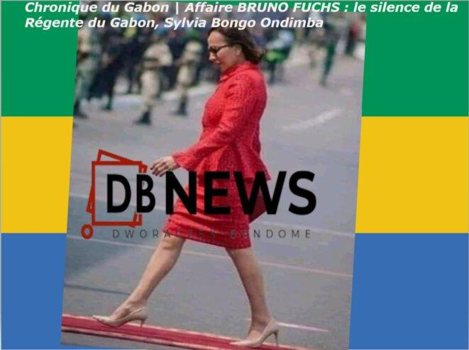 Sylvia Bongo Ondimba, la Régente du Gabon.