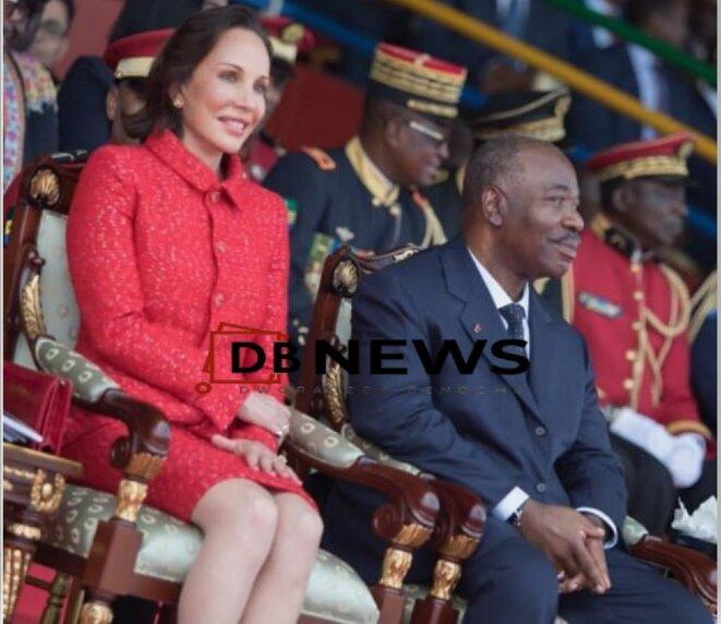 Sylvia et Ali BONGO ONDIMBA- Couple présidentiel du Gabon.