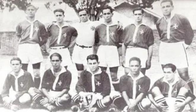 L'équipe du CR Vasco de Gama en 1923.