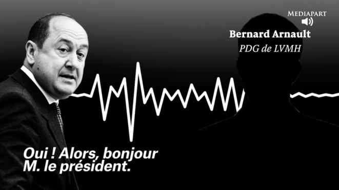 The first part of the Mediapart series of recordings involving former French spy chief Bernard Squarcini. © Mediapart