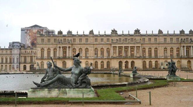Versailles pendant le confinement © Pierre Reynaud