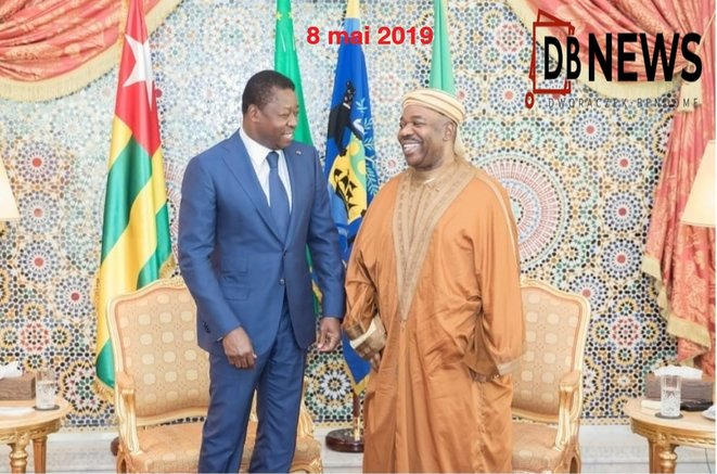 Ali Bongo Ondimba, President du Gabon - Faure Essozimna Gnassingbe, du Togo