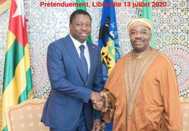 Ali Bongo Ondimba President du Gabon - Faure Essozimna Gnassingbe du Togo