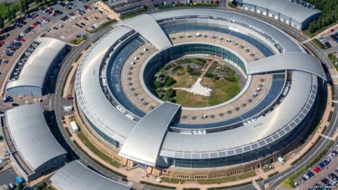Le siège des communications du gouvernement, également connu sous le nom de GCHQ, à Cheltenham © Getty Images