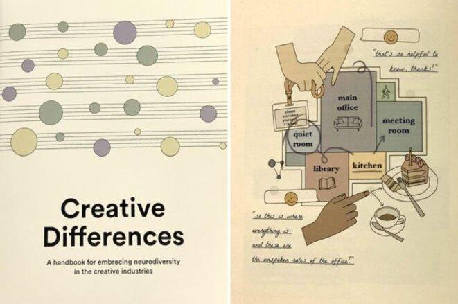 Le guide Universal Music explique certains des moyens actifs qu'ils utilisent pour rendre leur lieu de travail plus favorable à la neurodiversité. © BBC