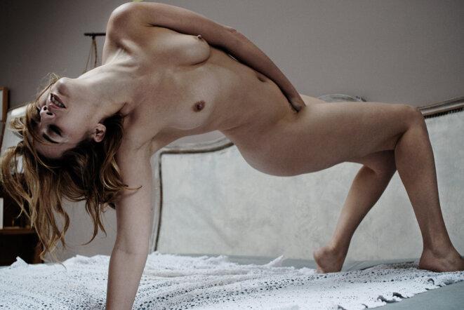 """photo de l'exposition de Frédérique Barraja présente dans le film """"Les Branleuses"""" © Frédérique Barraja"""