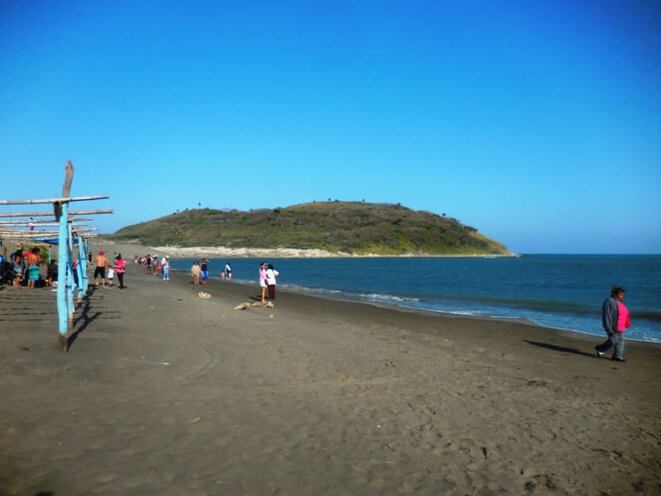 plage de Villa Rica de Vera Cruz © licence creative commons CC BY Boris Carrier