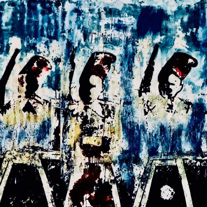 Les tirailleurs de Thiaroye © Jean Lebreton