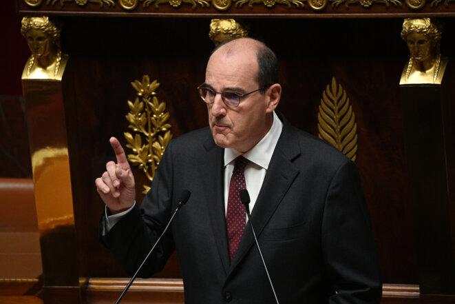 Jean Castex à l'Assemblée nationale, le 15 juillet. © AFP