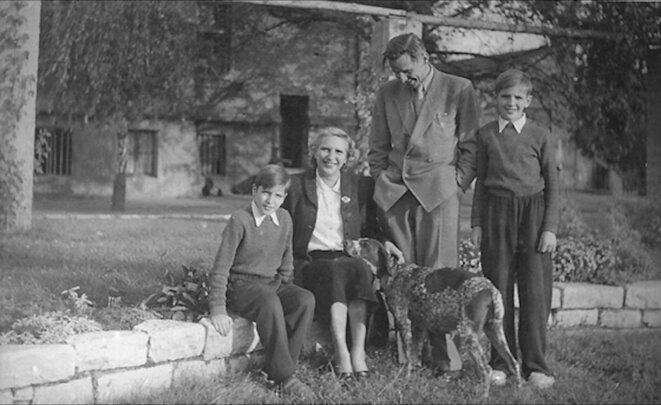Famille Langhoff 1949 © dr