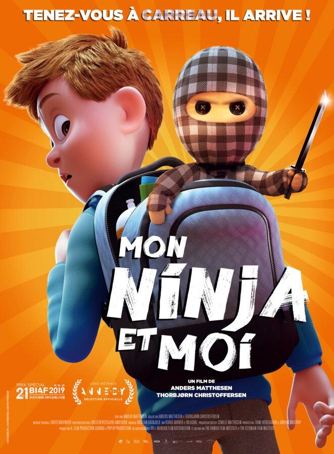 """""""Mon ninja et moi"""" de Thorbjørn Christoffersen et Anders Matthesen   Le Club de Mediapart"""
