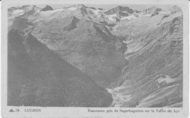 Vallée du Lys. © Photo ancienne.