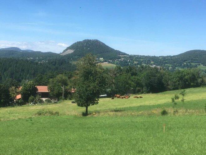 photo paysage Rabuzac tracé de la déviation RN88 © Lucien Soyere