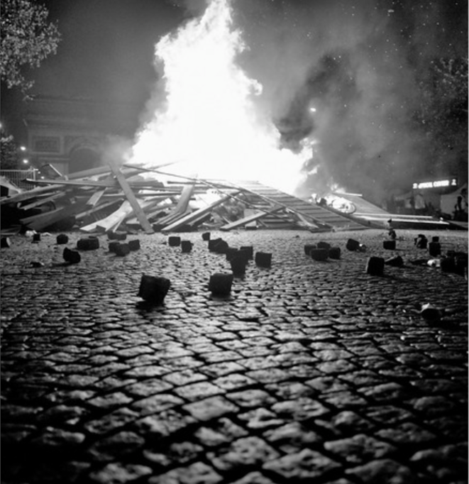 FEU (poèmes Jaunes) © Serge d'Ignazio
