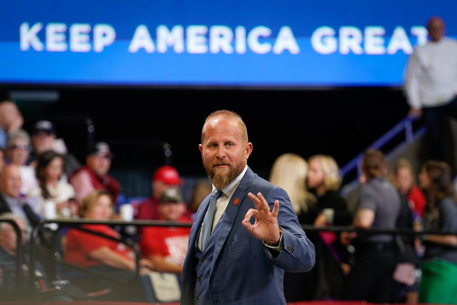 Brad Parscale, évincé de la campagne de Donald Trump. © Bryan Woolston / Getty Images via AFP