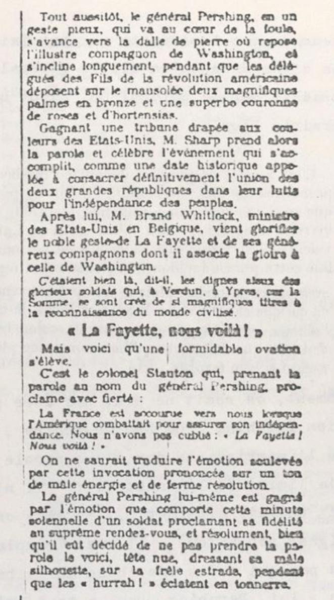 Extrait de la Une du Petit Parisien, le 5 juillet 1917.