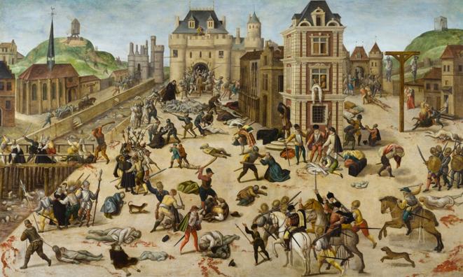 Le Massacre de la Saint-Barthélemy. © François Dubois, musée cantonal des Beaux-Arts de Lausanne