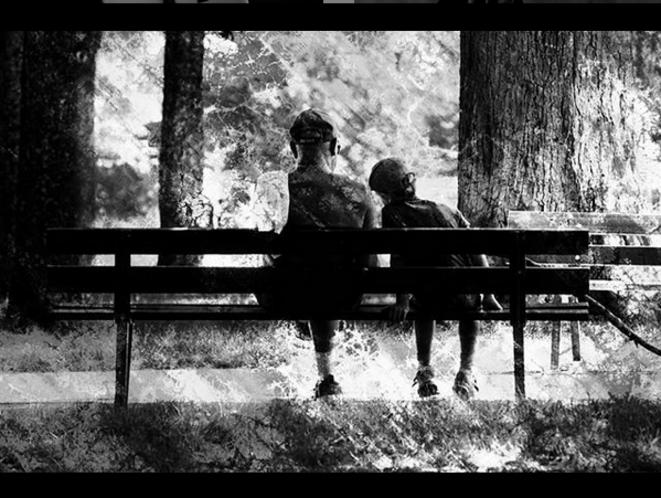 Father and son © Luna TMG Instagram