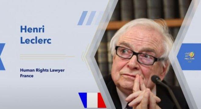 Henri Leclerc, 20 juillet 2020