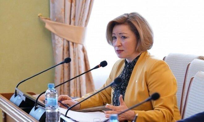Lenara Ivanova, ministre de la famille, du travail et de la protection sociale du Bachkortostan © ГорОбзор.ру