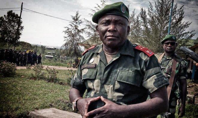 Sous sanctions internationales, le général Amisi prend la tête de l'inspection générale des armées © DR