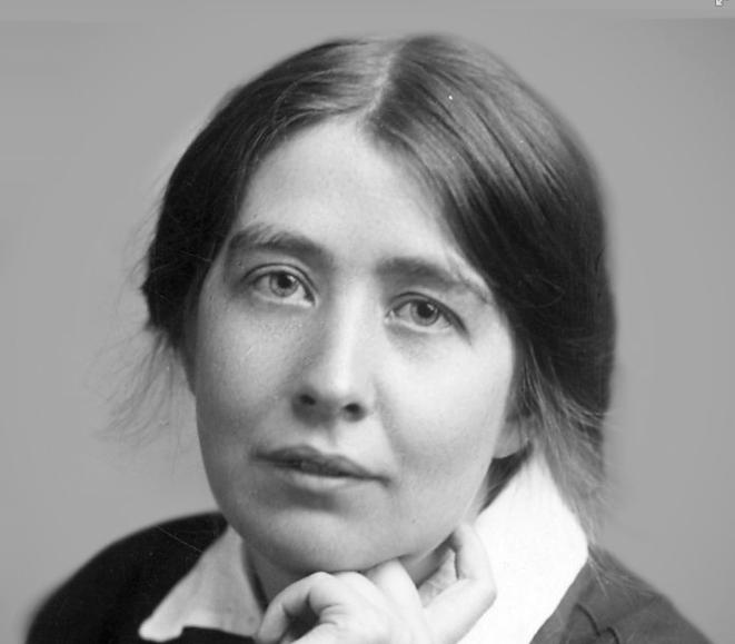 Portrait de Sylvia Pankhurst. © DR