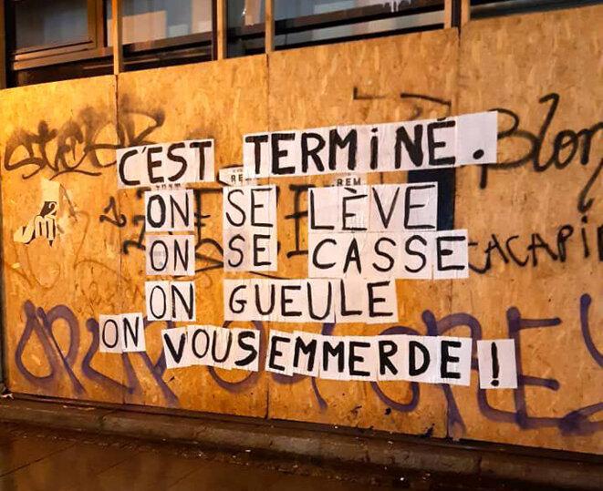 © Collages féminicides Rennes