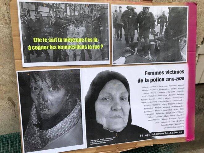 Soutien aux femmes victimes de violences policières © Oriane