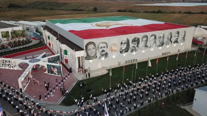 Achraf-3, cité de la Résistance iranienne,à laquelle était relié le sommet mondial pour un Iran libre