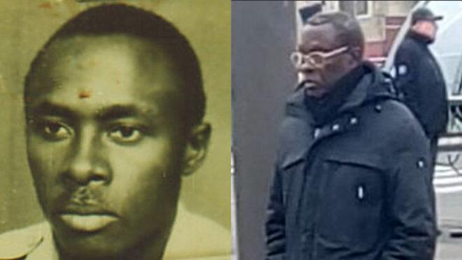 À gauche: photo non datée d'Aloys Ntiwiragabo ; à droite, ce même Rwandais en février 2020. © DR