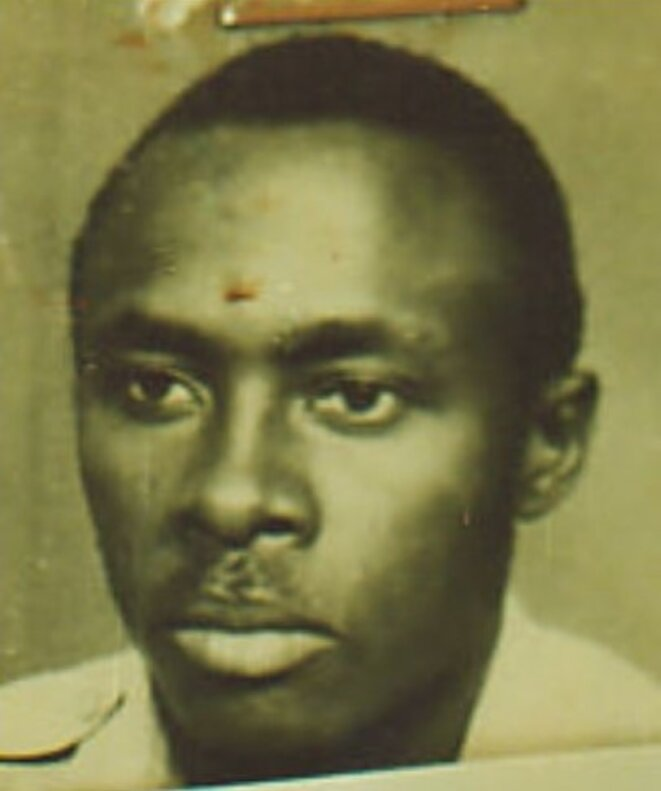 An undated photo of Aloys Ntiwiragabo from a report by NGO African Rights.