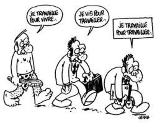 Dessin humoristique de Charb. © Charb.