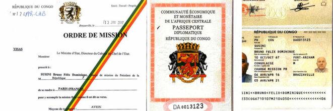 Ordre de mission et passeport diplomatique : ces documents ont été fournis par le Congo à l'un des hommes soupçonnés en 2018 « d'association de malfaiteurs en vue de commettre un assassinat » contre un opposant.