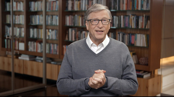 Bill Gates, le 24 juin 2020. © AFP