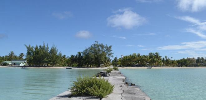 Anaa, dans l'archipel des Tuamotu. © JS