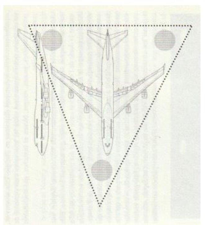 Un Triangle de la taille d'un Boeing © Editions Le Temps Présent, collection Enigma