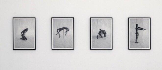 """Agnès Geoffray, """"Sans titre (après Claude Cahun)"""", 2017, photographies, Collection de l'artiste © Agnès Geoffray, courtesy de la galerie Maubert, Paris"""