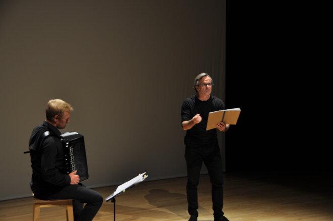 Laurent Derache et Marc Roger