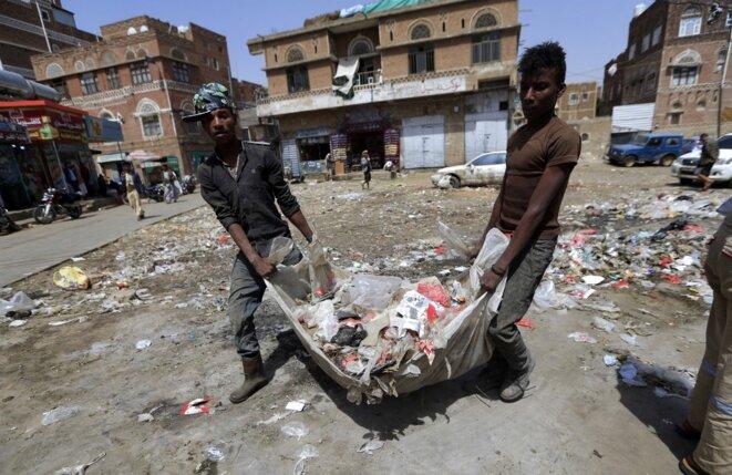 A Sanaa, Yemen, le 13 juillet 2020. © Mohammed Huwais/AFP