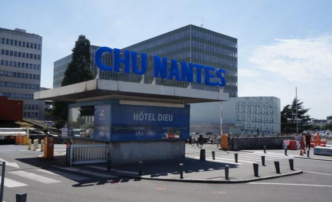 Le CHU de Nantes. © Mediacités