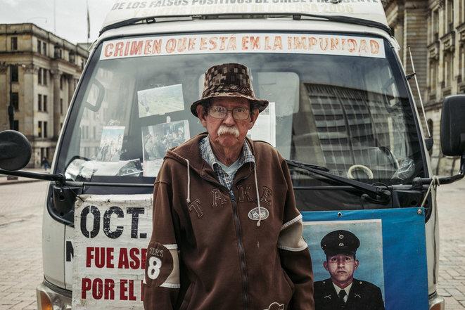 Desde hace más de 13 años, Raúl Carvajal ha estado buscando la verdad sobre la muerte de su hijo. © PB