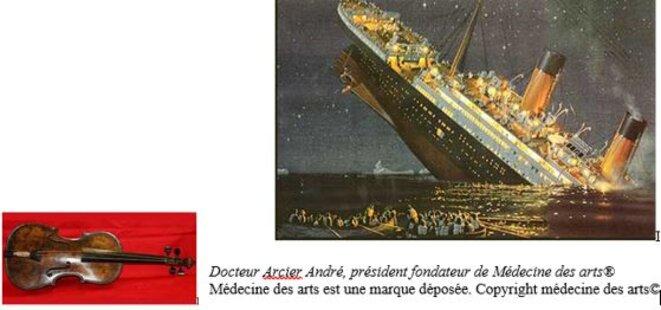 le-titanic-et-le-violon