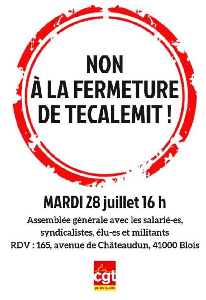 © @CGT Blois