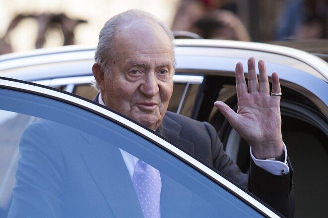 L'ancien roi Juan Carlos Ier en 2018. © Jaime Reina/AFP