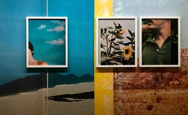"""Pacifico Silano, de la série """"Elegy to the Void"""", papier peint, tirage jet d'encre, 2019 © Pacifico Silano"""