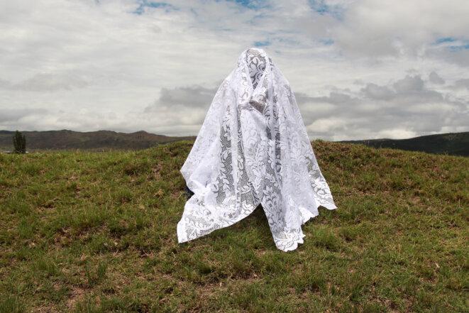 Thandiwe Msebenzi, Indawo yam – Mon endroit (2017), de la série Awundiboni – You Don't See Me, 2015-2017 © Thandiwe Msebenzi