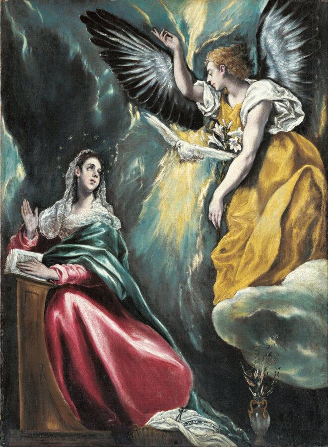 El Greco Annonciation 1595-1600 © WikiMedia