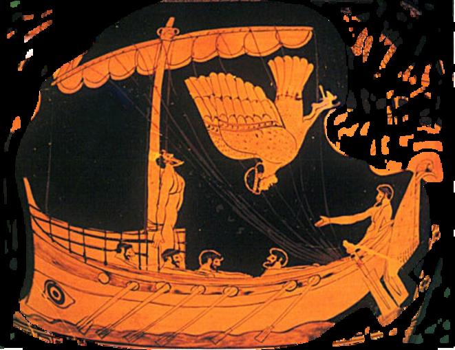 Ulysse et la sirène © Jastrow in WikiMedia