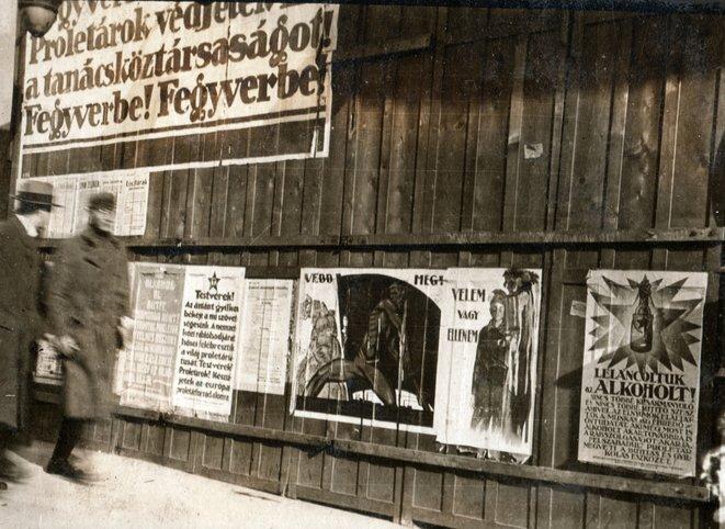 budapest-1919-proletaires-defendez-la-republique-des-conseils-aux-armes-pechy-laszlo-collection-fortepan